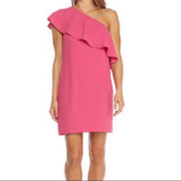 Charles Henry Dresses & Skirts - NWT Charles Henry Pink One Shoulder Dress